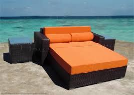 cosmopolitan daybed sofa set outdoor wicker las vegas patio furniture