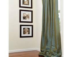 silk curtains etsy