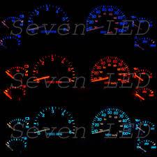 jeep wrangler speedometer jeep wrangler tj 97 06 dash instrument cluster speedometer led kit