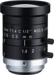 6 mm c mount lens pentax h614 mq kp ricoh fl hc0614 2m 1 4