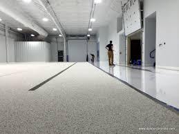 epoxy coating for private business dancer concrete design