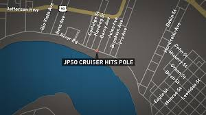 Entergy Outage Map New Orleans by Jefferson Homes Lose Power After Jpso Cruiser Hits Utility Pole