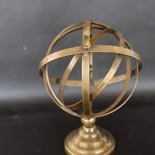 Brushed Brass Light Fixtures by Brushed Brass Armillary Sphere U0026 Arrow The Savoy Flea