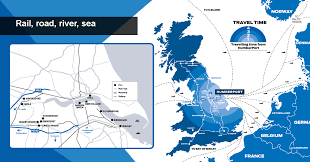 Hull England Map by Humber Logistics Platform Logistics Institute Data Observatory
