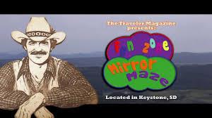 South Dakota travel mirror images Mirror maze keystone south dakota black hills jpg