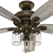 hunter crown canyon ceiling fan hunter crown canyon 6 in indoor regal bronze ceiling fan tjihome