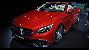 mercedes maybach interior 2018 new 2018 mercedes maybach s650 cabriolet exterior and interior