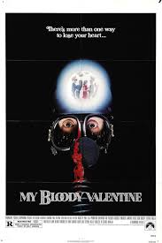 triple aaa halloween horror nights my bloody valentine movie poster rare horror horror