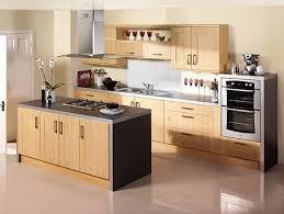 kitchen brown wooden flooring brown kitchen islands stainless