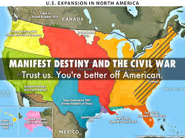 Manifest Destiny Map American Way Of Strategy By Phil
