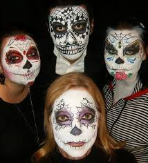 Dead Halloween Costume Ideas 46 Dead Face Painting Images Sugar