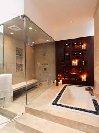 Bathroom Walk In Showers Pictures by Grey Tile Small Bathroom Walkin Shower Ideas Chrome Round Wall