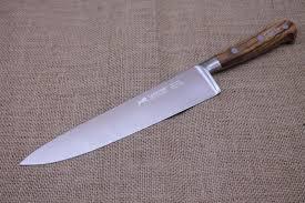 kitchen knives sabatier sabatier olivewood chefs knife 25 cm