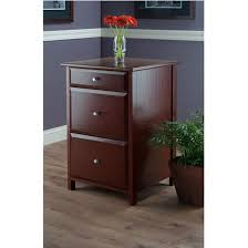 Oak Filing Cabinet 3 Drawer Delta 3 Drawer Cabinet With 2 File Cabinets By Winsome Wood