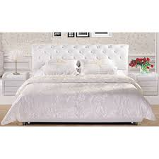luxury superking leather bed