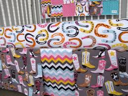 crib bedding luckie cowgirl boots horseshoes feathers chevron