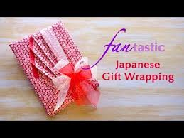 japanese gift wrapping fan tastic japanese gift wrapping youtube