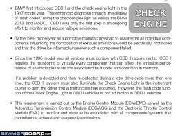 Reset Service Engine Soon Light Loose Gas Cap Has Triggered Service Engine Light Bimmerfest