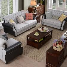 Sofa Leather And Fabric Combined by Vatican Furniture American Fabric Sofa Size Size Living Room