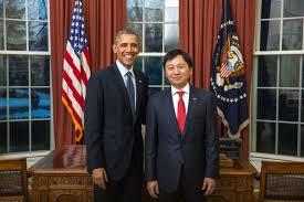 president obama in the oval office ambassador kadyr toktogulov presented credentials to us president
