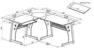 Mainstays L Shaped Desk L Shaped Desk Dimensions Dimensions Glass L Shaped Desk Mainstays