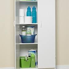 closetmaid pantry storage cabinet white amazon com closetmaid 8967 pantry cabinet white closetmaid home