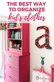 how to get organized kids u0027 drawers and closets kids clothing