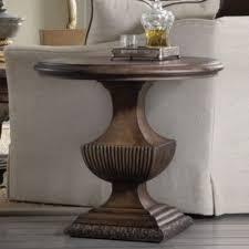 hooker sofa tables hooker furniture rhapsody urn pedestal side table