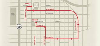 Dallas Convention Center Map by Race Info Shipley Donuts Dash