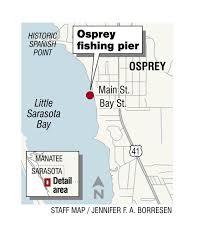 Sarasota County Zoning Map Map Osprey Fishing Pier