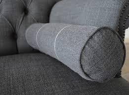 Plain Wool Bolster Cushions Abode Sofas - Sofa bolster cushions