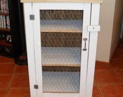 Chicken Wire Cabinet Doors Chicken Wire Cabinet Etsy