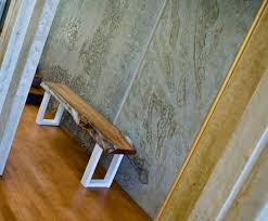 Eucalyptus Bench - custom live edge eucalyptus bench by the timber library