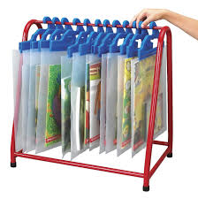 childcraft 201165 metal storage rack red 18 x 18 x 12