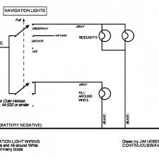 sweet amazing navigation light wiring diagram how to wire boat