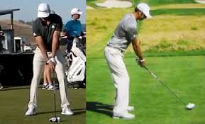 square to square driver swing dustin johnson golf swing analysis consistentgolf com
