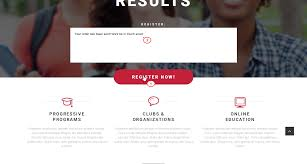 landing page template how to activate registration and newsletter
