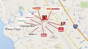 Jacksonville Map 3362 Powers Ave Jacksonville Fl 32207 Convenience Store