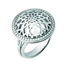 domed ring timeless silver domed ring links of london links of london