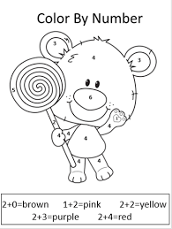 printable first grade math coloring worksheets free images