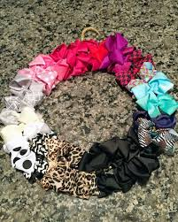 diy baby hair bows diy hair bow wreath for a baby girl hometalk