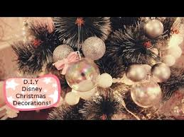 super easy d i y disney mickey mouse christmas decorations youtube