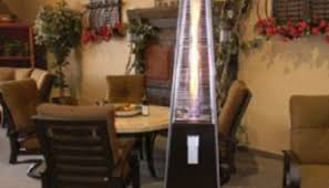 Garden Radiance Patio Heater by Garden Radiance Grp4000bk Dancing Flames Pyramid Outdoor Patio