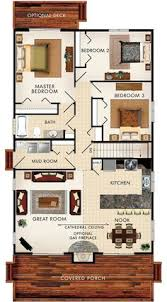 Bungalow Round Floor Plan Interior by 25 More 3 Bedroom 3d Floor Plans 3d Bedrooms And 3d Interior Design