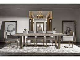 rectangular dining room tables universal furniture modern robards rectangular dining table