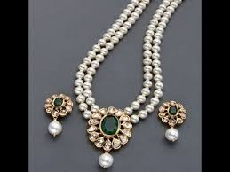 pearl design necklace images Latest stylish pearl jewellery designs jpg