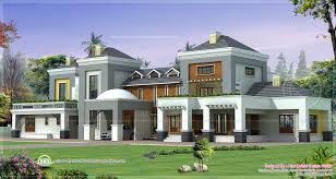 luxury home plans house plan with photo kerala design and floor
