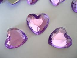 gems for table decorations lilac scatter table confetti decorations gems crystals diamonds
