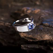 natural tanzanite rings images Natural blue tanzanite ring in 18kt white gold tanzanite ring for jpg