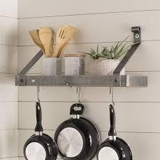 kitchen island hanging pot racks pot racks you ll wayfair